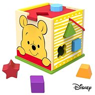 Derrson Disney Wooden cube with Winnie the Pooh shapes - Wooden Toy
