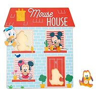 Derrson Disney Wooden Puzzle House for the little ones - Wooden Puzzle