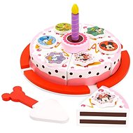 Derrson Disney - A Wood Cutting Cake by Minnie and Friends - Wooden Toy
