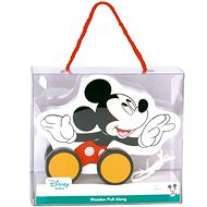 Derrson Disney Wooden Pull Along - Mickey Mouse - Wooden Toy