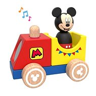 Derrson Disney Wooden Train with Mickey - Wooden Toy