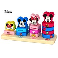 Derrson Disney - Merry Count Mickey and Minnie - Wooden Toy