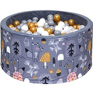 iMex 3454 Dry pool with balls Mystery forest Gold - Ball Pit