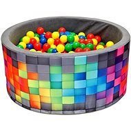 iMex 2631 Dry Pool with Coloured Balls - Ball Pit