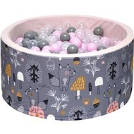 iMex 3430 Dry Pool with Balls Mystery Forest Pink - Ball Pit