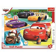 Trefl Puzzle board Cars 3 / Cars 3 / Good team of 25 pieces - Puzzle