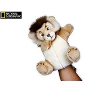 National Geographic puppet Lion 26 cm - Hand Puppet