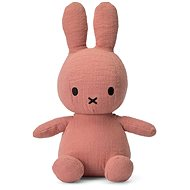 Miffy Sitting Mousseline Pink 23cm - Plush Toy