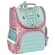Minnie mouse green-pink - School Backpack