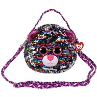 Ty Fashion Sequins handbag with sequins DOTTY - leopard
