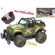 R / C car military off-road 26cm 27MHz, battery with light - RC Remote Control Car