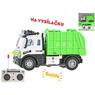 R / C garbage truck 13cm 1:64, for batteries with light - RC Remote Control Car