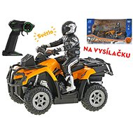 R / C ATV with rider 23cm 1:10, with 2.4GHz light - Kids Quad Bike
