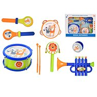 Set of musical instruments 7pcs with drumsticks - Musical Toy