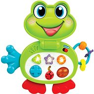 Laptop frog interactive 24cm battery with light and sound - Interactive Toy