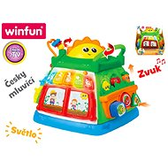 Educational garden speaking Czech on batteries with light and sound - Interactive Toy