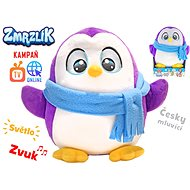 Tony plush ice cream 26cm with a Czech-speaking scarf on batteries with light and sound 12m + in a b