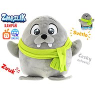 Frosty Olly plush toy 26cm Czech-speaking with a scarf, with light and sound - Plush Toy