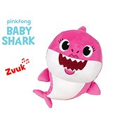 Baby Shark Spandex 27cm plush for batteries with a sound of pink 0m + in a bag