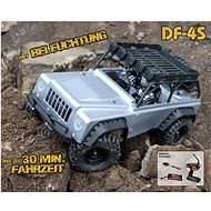 DF-4S Crawler with LED Lighting Silver