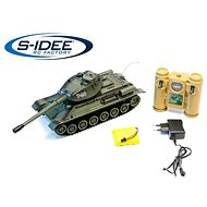 Combat tank T34 2.4 GHz with infrared cannon, fighting 1:28