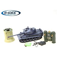 German Tiger battle tank with interactive turret 1:28 2.4Ghz - Remote Control Tank