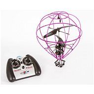 Knight flying purple balloon - Remote Control Helicopter
