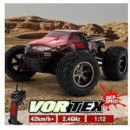 Monster Truck 1:12 red - RC Remote Control Car
