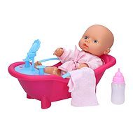 Baby with bath 31 cm - Doll