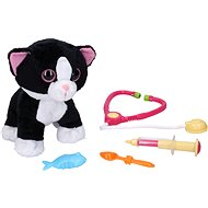 Cat vet with sound effects 30 cm - Interactive Toy