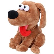 Laughing dog with sound effects 21 cm - Interactive Toy