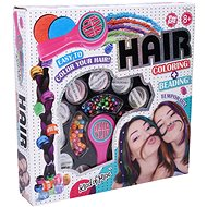 Beauty Set Decorating Hair with Beads