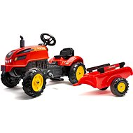 FALK pedal tractor 2046AB X-Tractor with siding and opening hood - Pedal Tractor