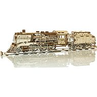 Wooden express with stand and rails - 3D Puzzle