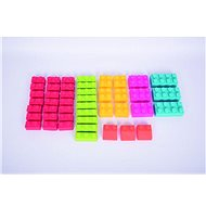 Set of Silicone Lego Type Cubes - Thematic Toy Set