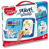 Set of Maped Travel Board - Magnetic Board - Creative Kit