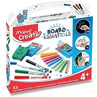 Maped Board Set - Accessories for Drawing on Boards - Painting for Children