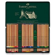 Faber-Castell Pitt Pastell crayons in a tin box, 60 colours - Coloured Pencils