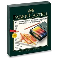Faber-Castell Polychromos crayons in a practical box (Studio Box), 36 colours - Coloured Pencils
