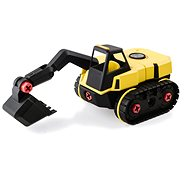 Stanley Jr. TT007-SY Kit, tracked excavator - Building Kit