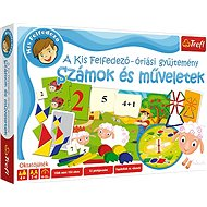 Educational game - BIG SET - numbers and operations HU - Board Game