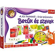 Educational game - BIG SET - Letters and words HU - Board Game