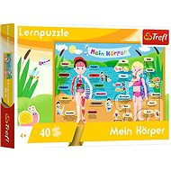 Educational Puzzle - My Body - german version - Board Game