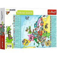 Educational Puzzle - Map of Europe - german version - Board Game