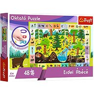 Educational Puzzle - The forest alphabet - hungarian version - Board Game
