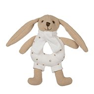 Canpol babies Bunny with rattle beige - Plush Toy