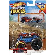 Hot Wheels Moster Trucks 1:64 with Toy Car 1pcs - Toy Car
