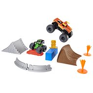 Monster Jam 2 Toy Cars with Accessories