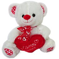 Teddy bear with ribbon and heart - 35 cm - Teddy Bear
