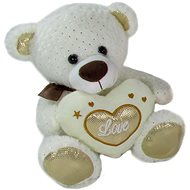 Teddy Bear Heart Beige - 23 cm - Teddy Bear